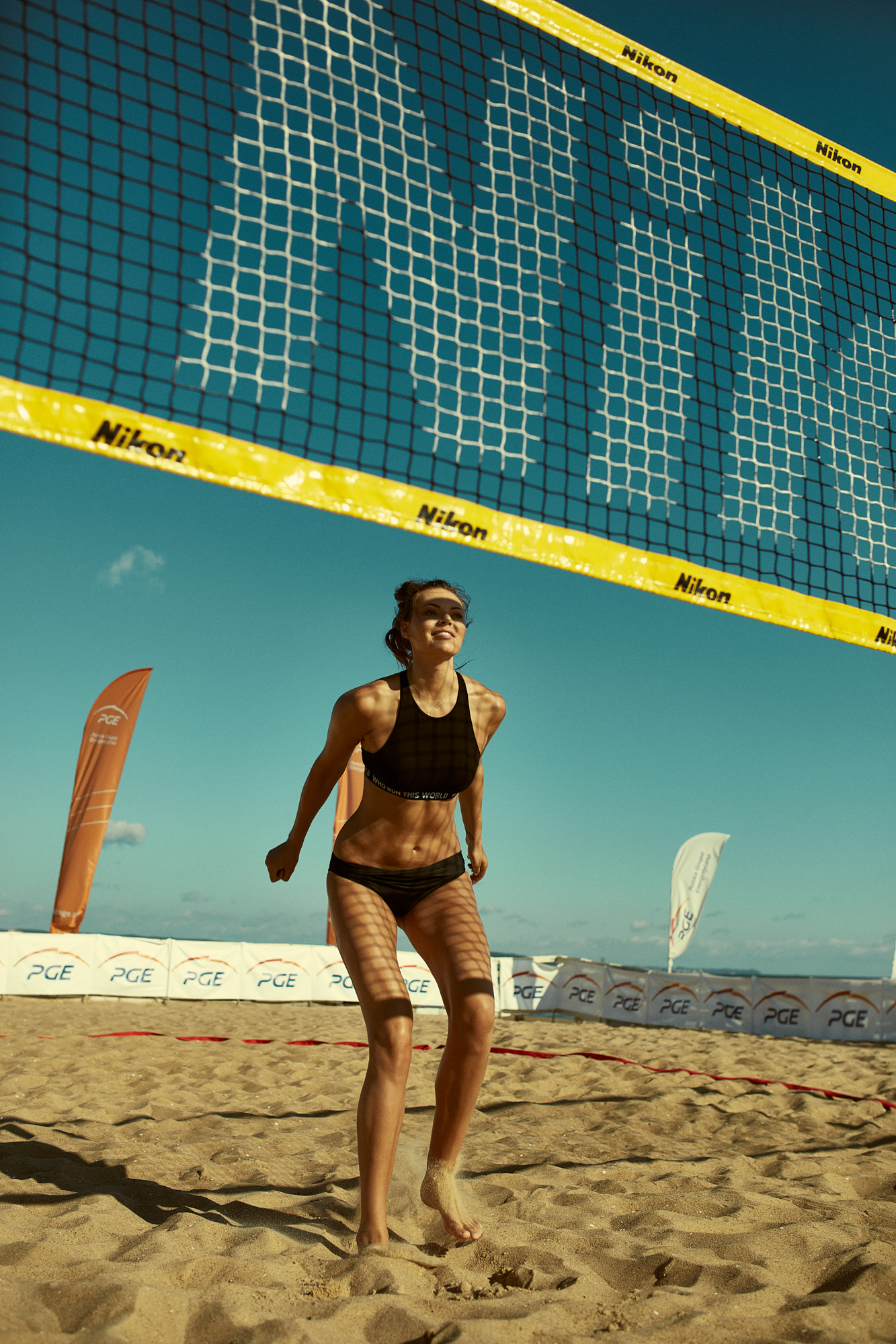 volleybal sportswoman maja tokarska x marcin biedron