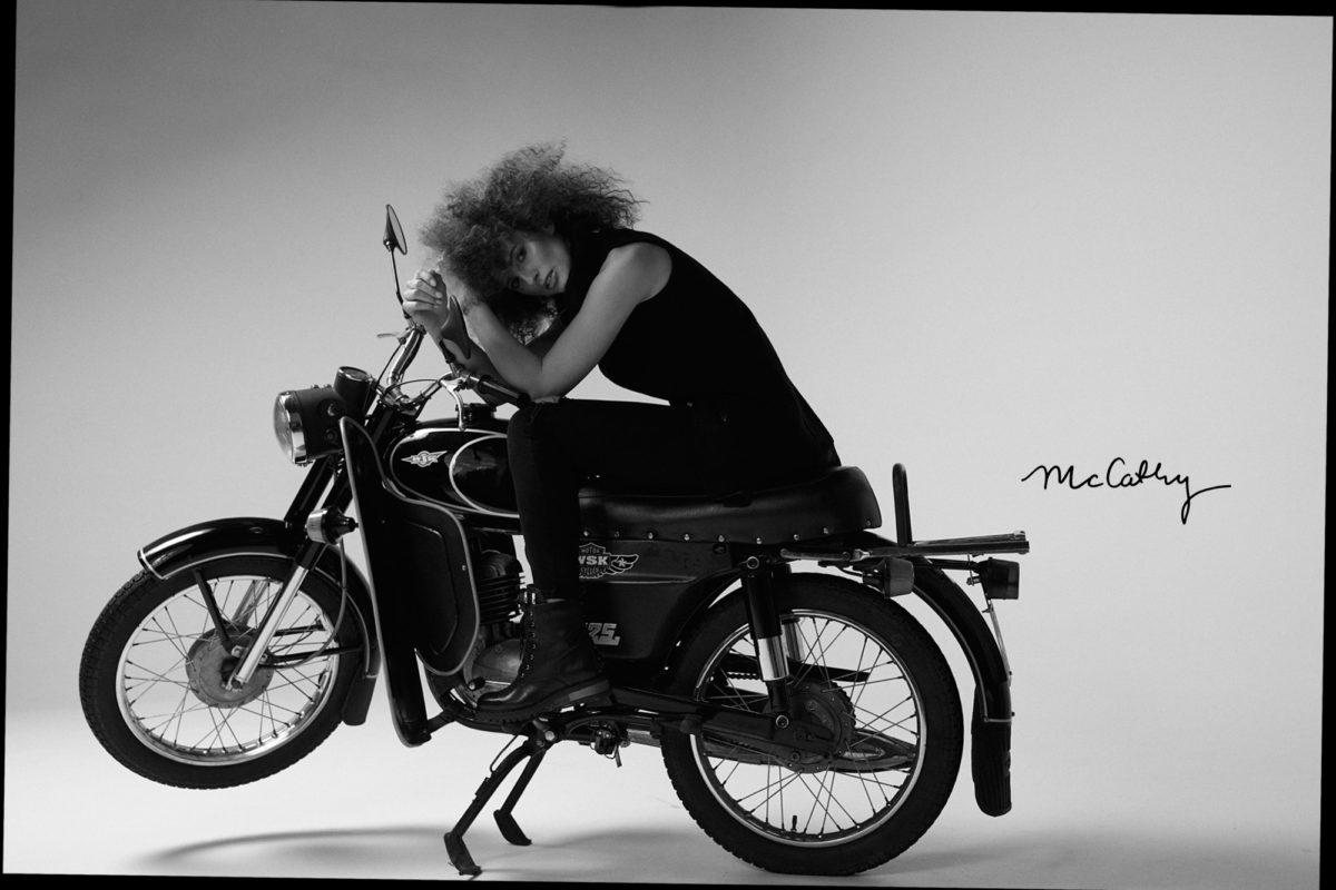 McCathy motorcycle Marcin Biedroń Marta Pałucka