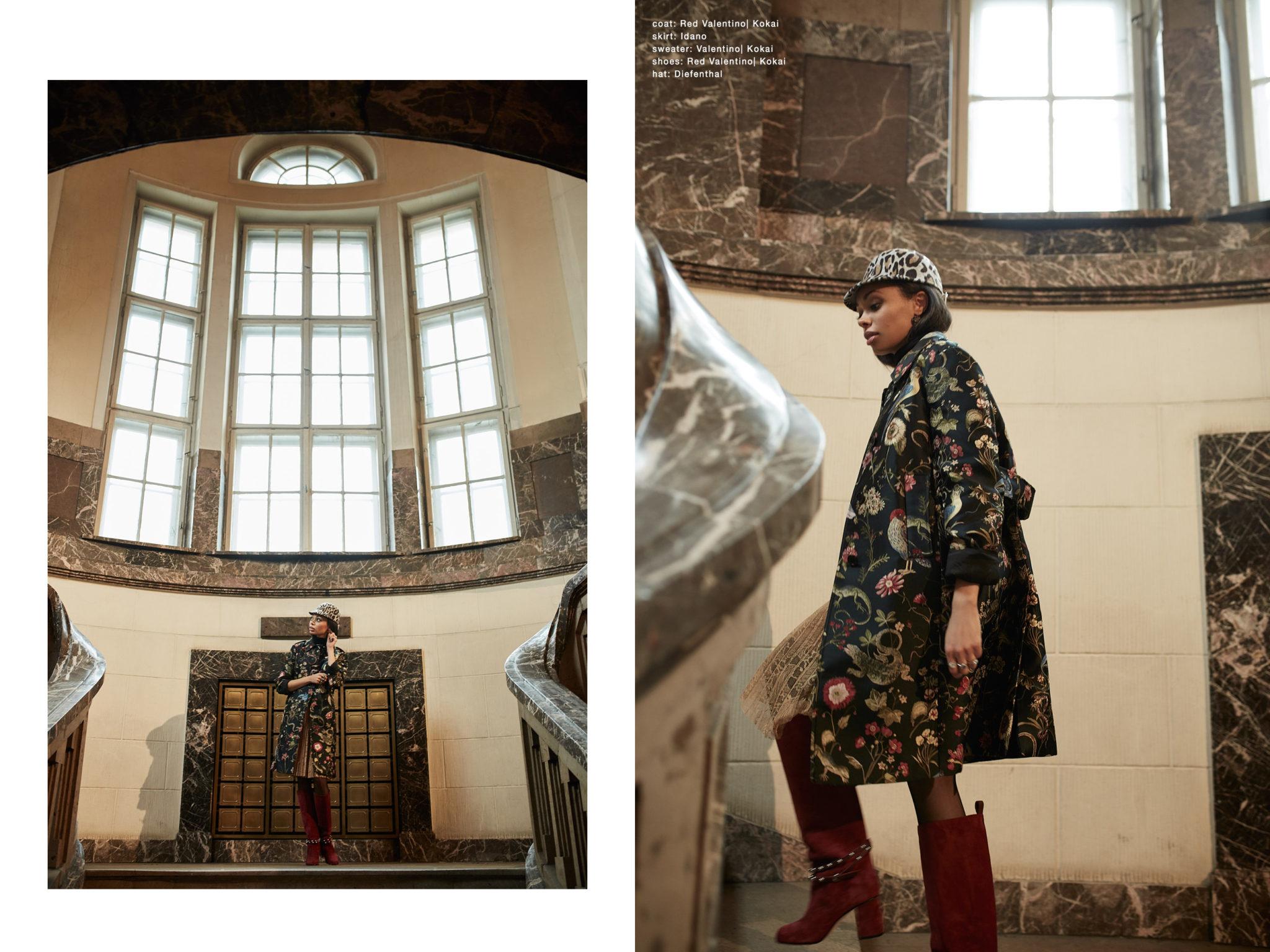 fashion story Doris Payne | Marcin Biedron